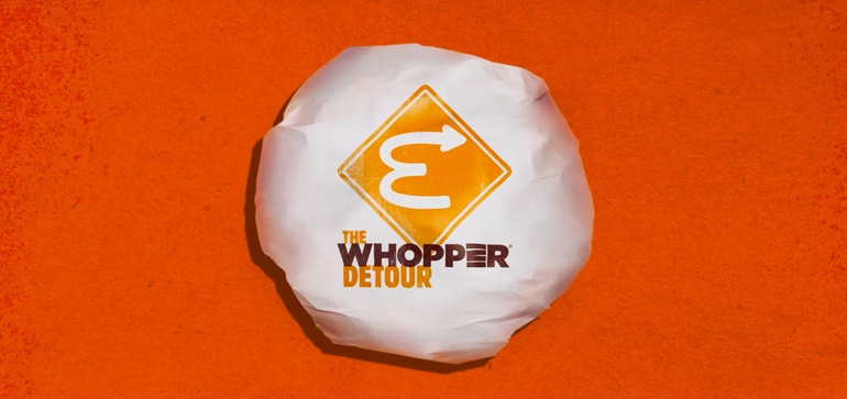 Campaign of the Year: Burger King's 'Whopper Detour'
