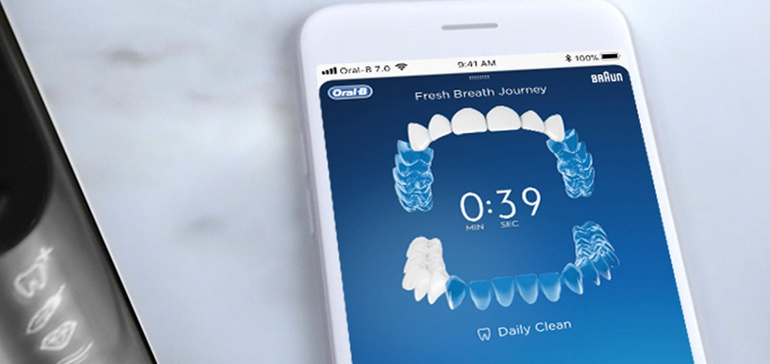 Oral-B connects AI-powered toothbrush to mobile apps for personalized tips