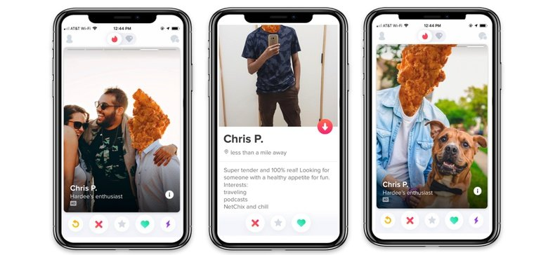 Hardee's wants Tinder users to 'swipe right' for chicken tender deal