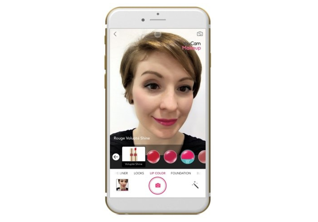 L'Oreal virtual makeup app