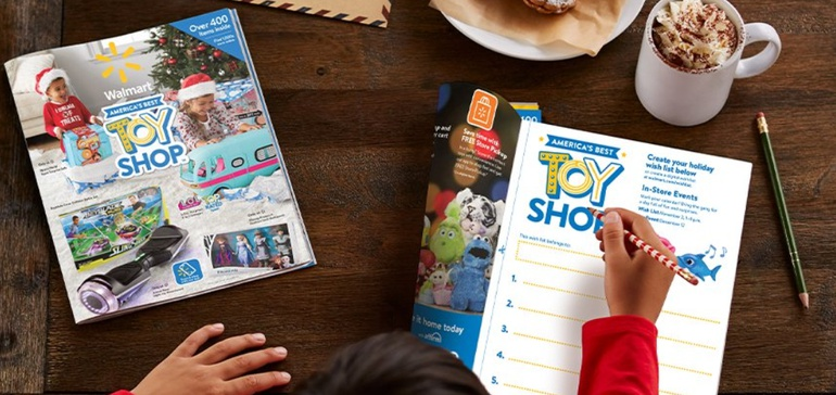 Walmart links mobile Scan & Shop with printed holiday toy catalog - Mobile Marketer